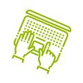 Icon Druckdaten Ausarbeitung