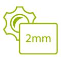 PDF Daten mit 2mm Beschnitt