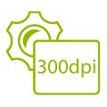 PDF Auflösung in 300dpi